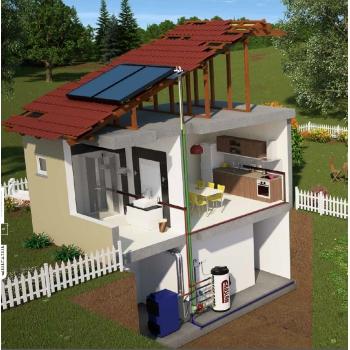 500 lt Skylight Güneş Enerjisi Sistemi