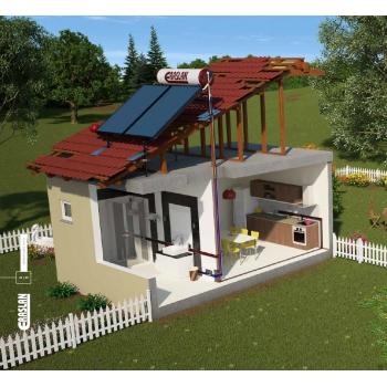 Güneş Enerjisi 110 lt. Daylight Sistem