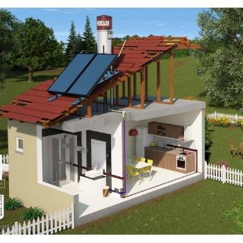 250 lt Sunlight Güneş Enerjisi Sistemi